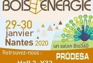 Invitation salon Bois Energie